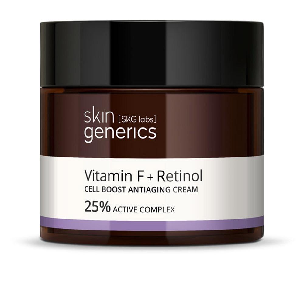 VITAMINA F + RETINOL cell boos antiaging cream