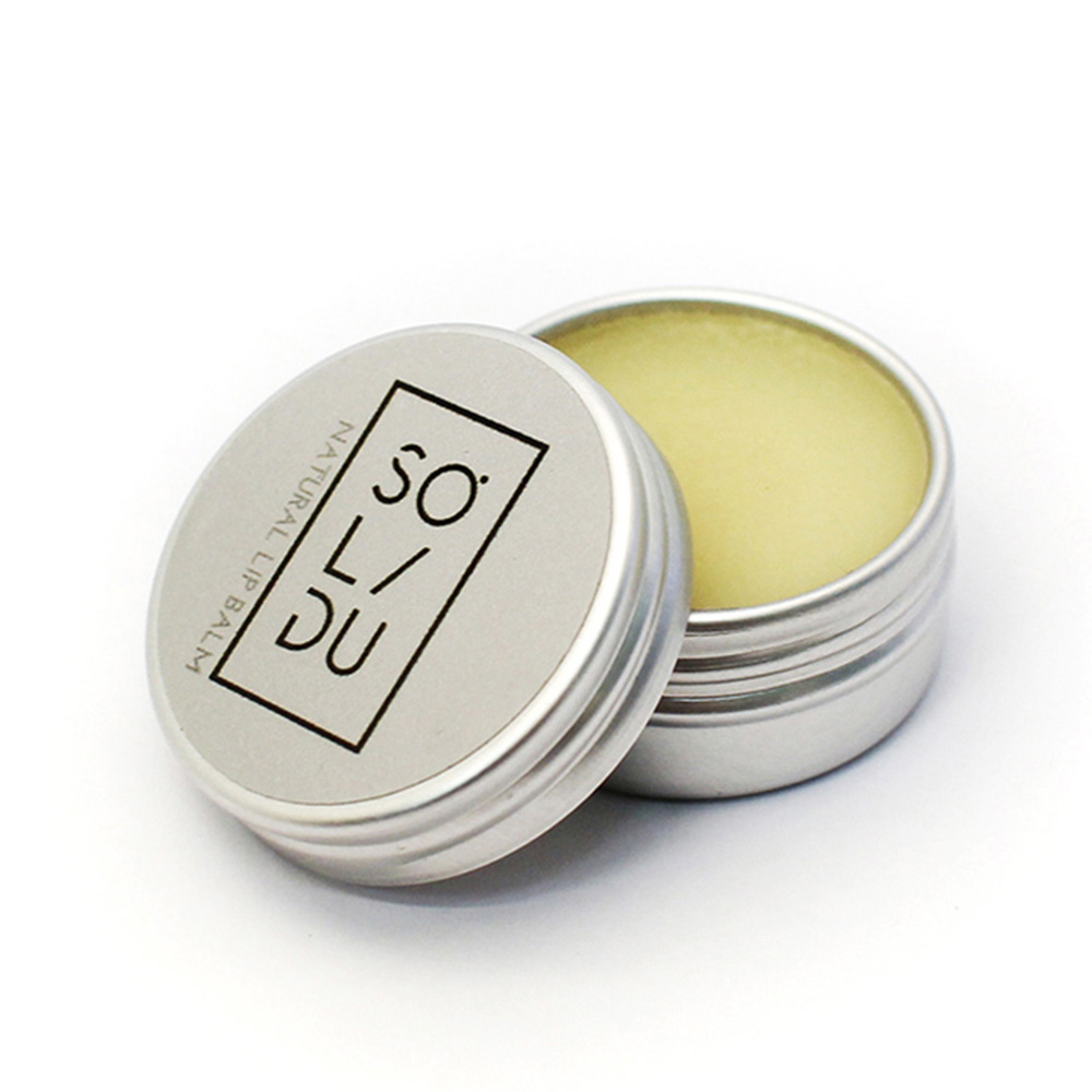 NATURAL coconut oil & beeswax lip balm