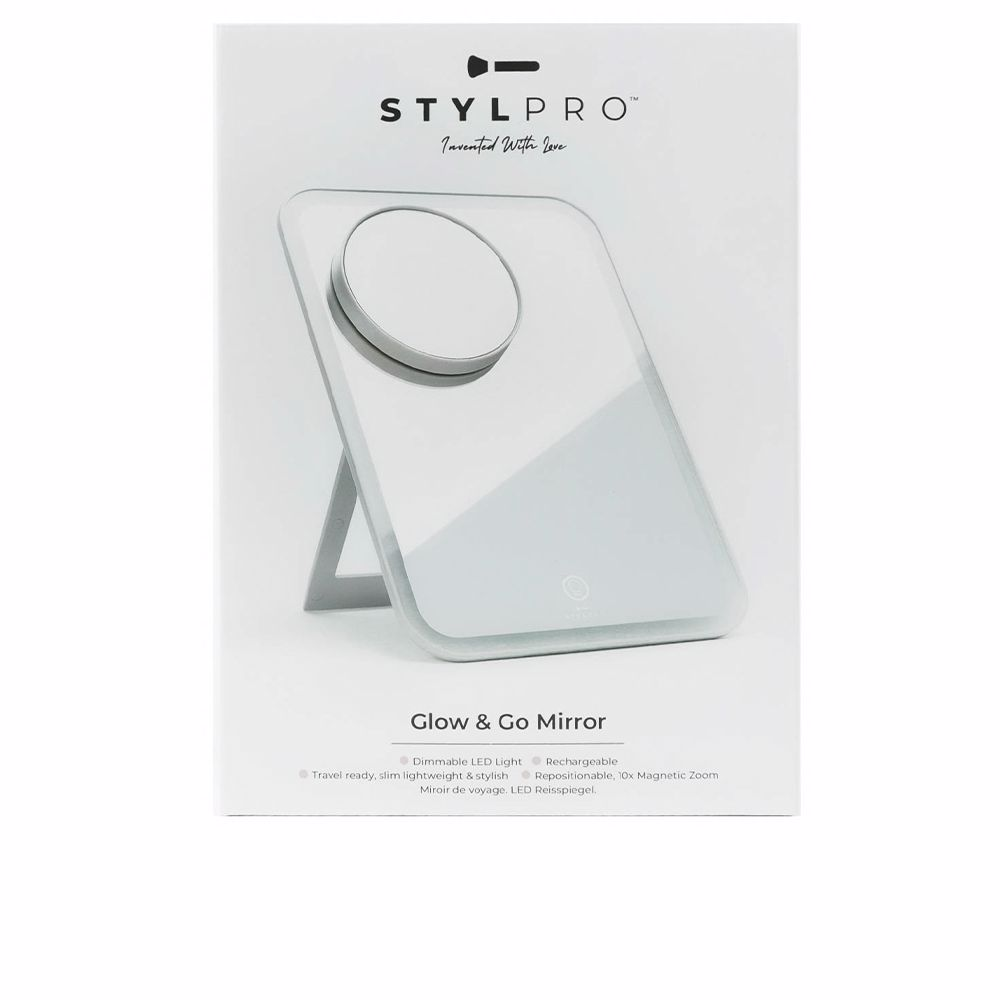 STYLPRO GO AND GLOW travel mirror