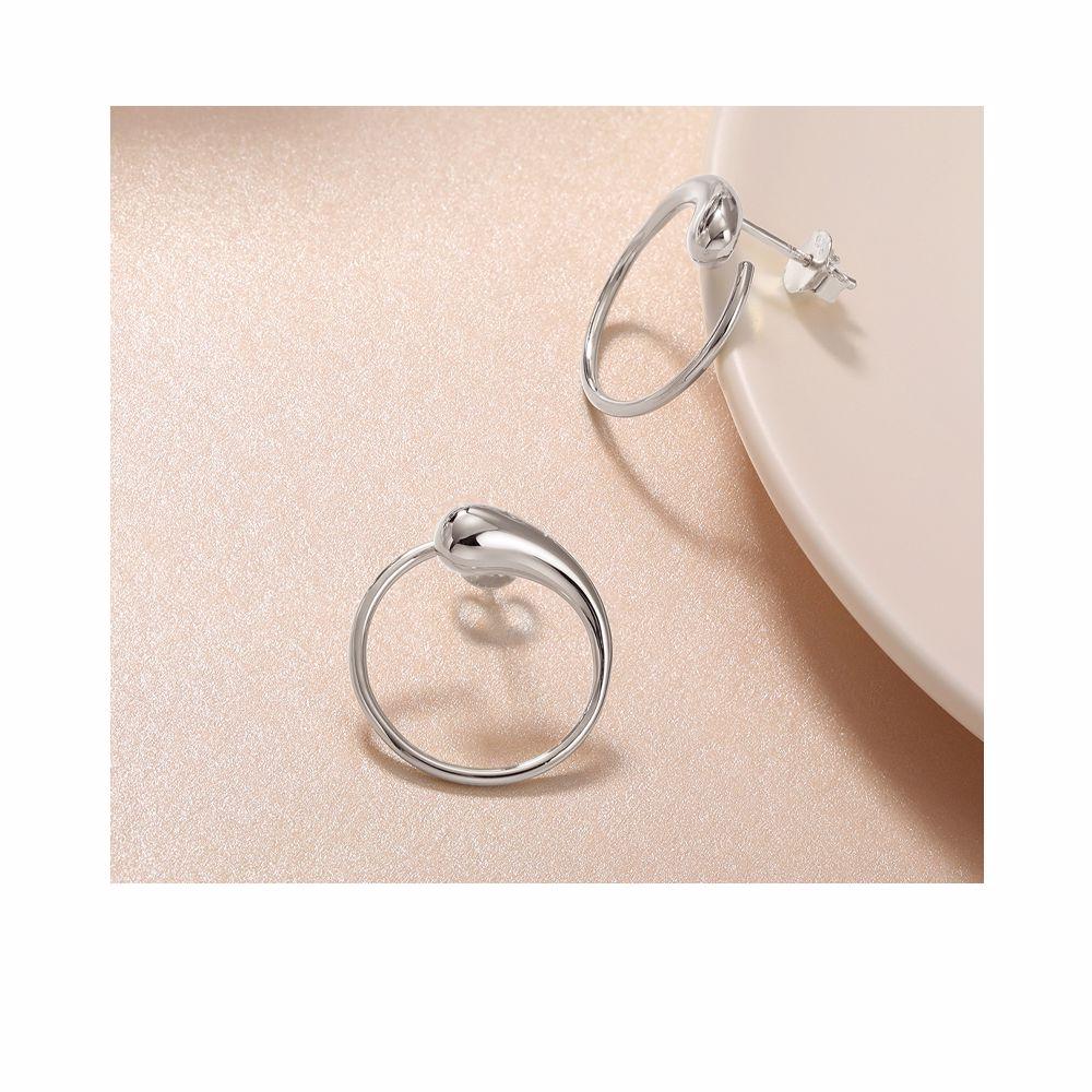 MO786 ECLIPSE earrings #silver