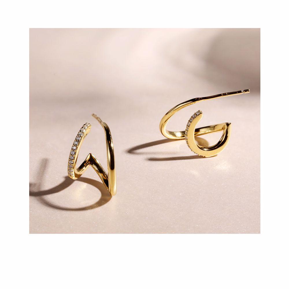 MO789 ELEGANT earring #gold