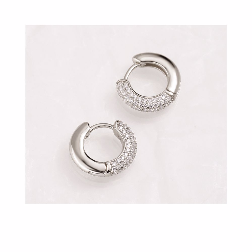 MO794 GODDESS earrings #silver