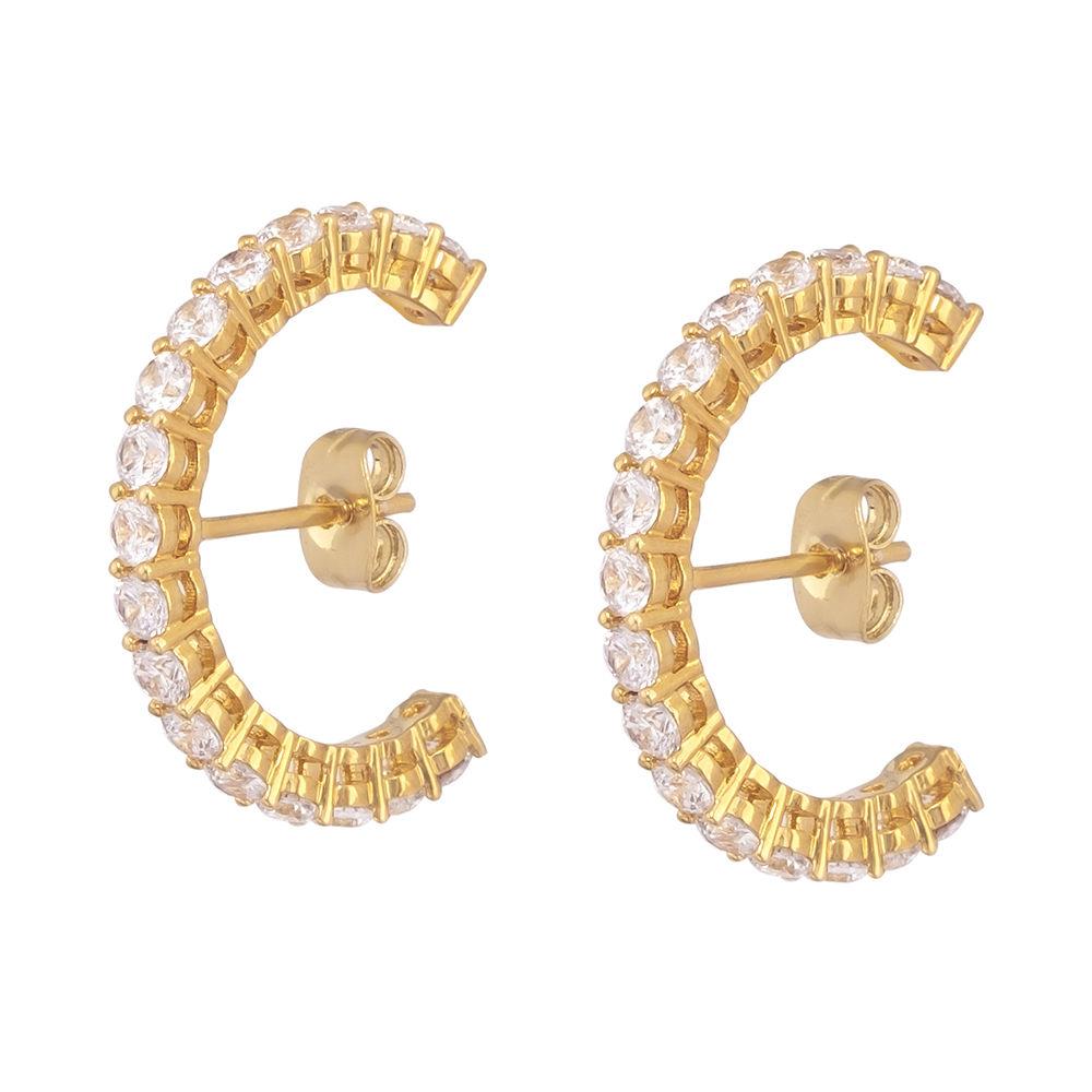 MO779 MOONLIGHT earrings #gold