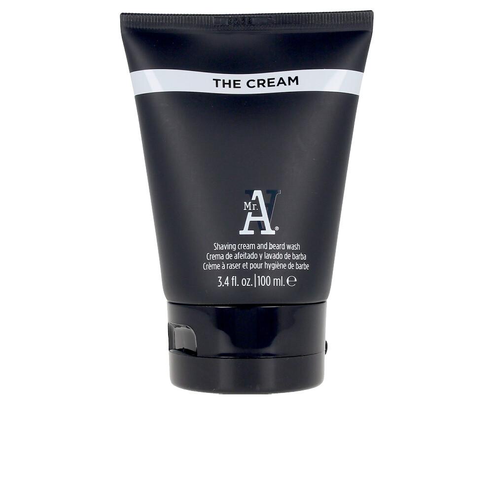 MR. A. THE CREAM shave cream and beard wash