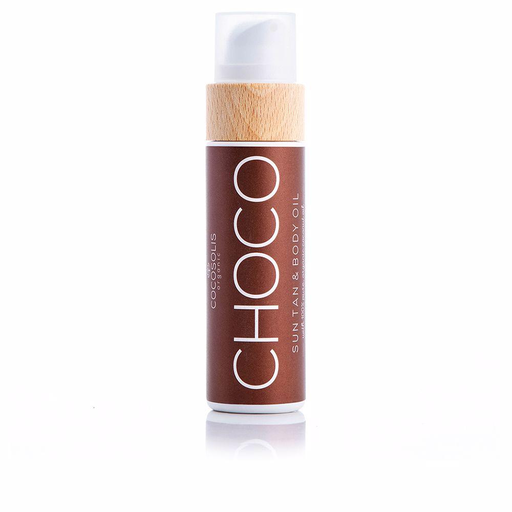 CHOCO sun tan & body oil