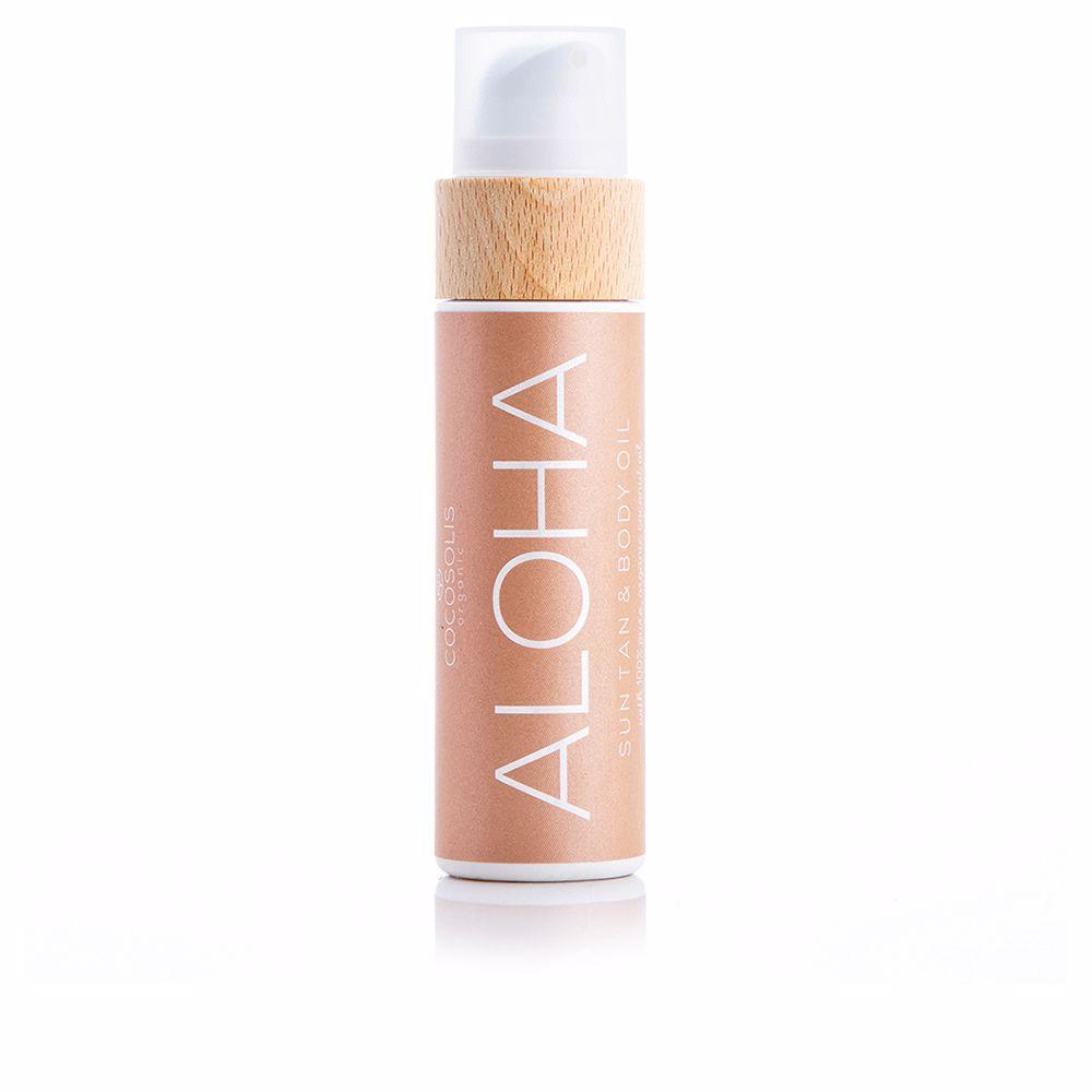 ALOHA sun tan & body oil