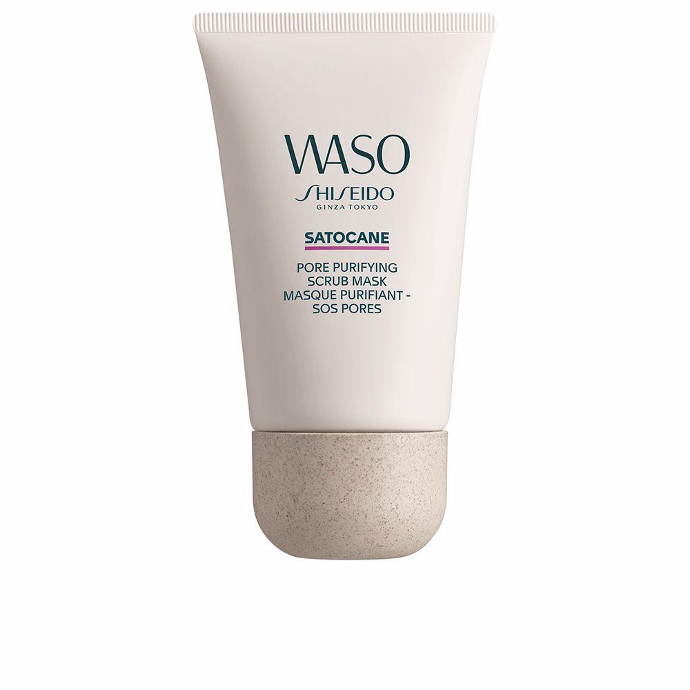 WASO SATOCANE pore purifying scrub mask
