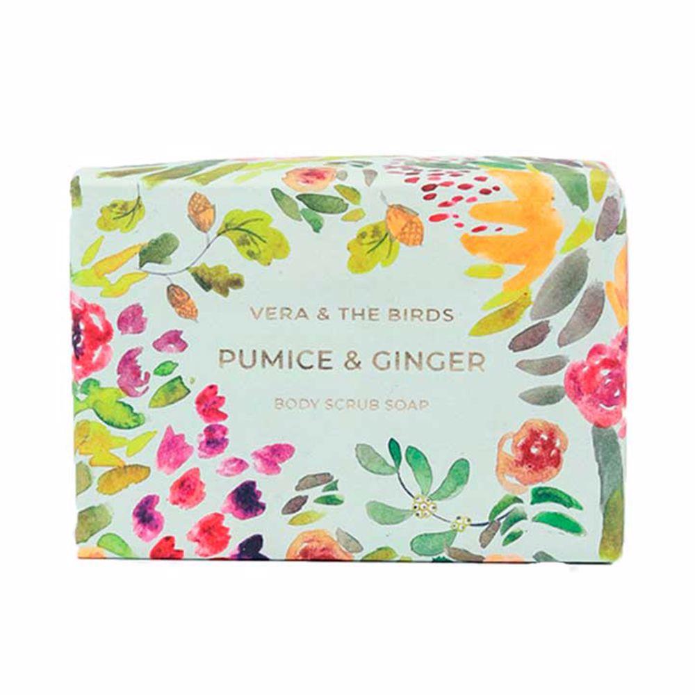 PUMICE & GINGER body scrub soap