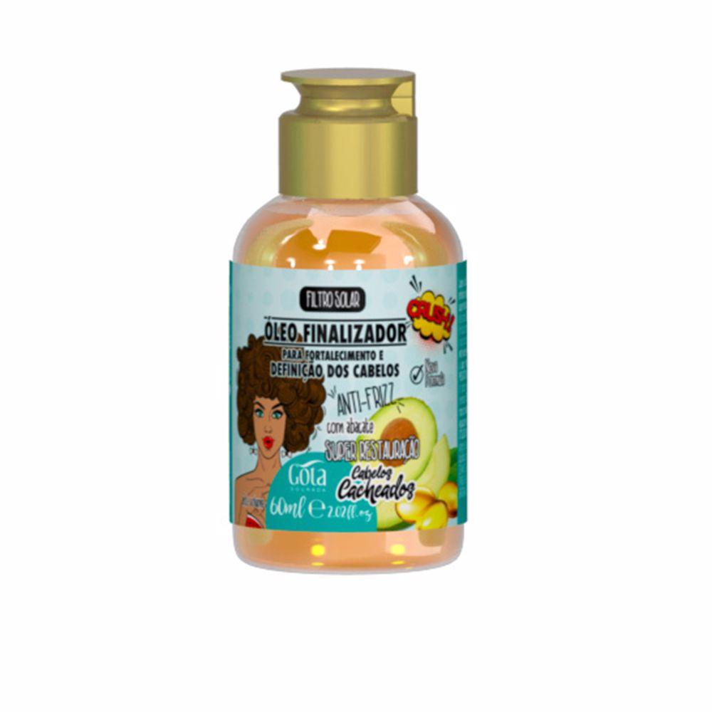 ÓLEO FINALIZADOR aceite fortalecedor para cabello rizado