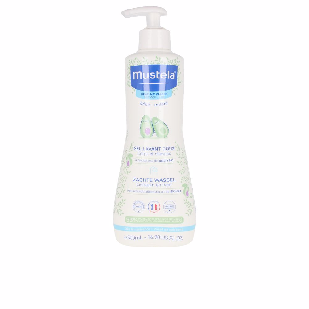 BÉBÉ gentle cleansing gel hair and body