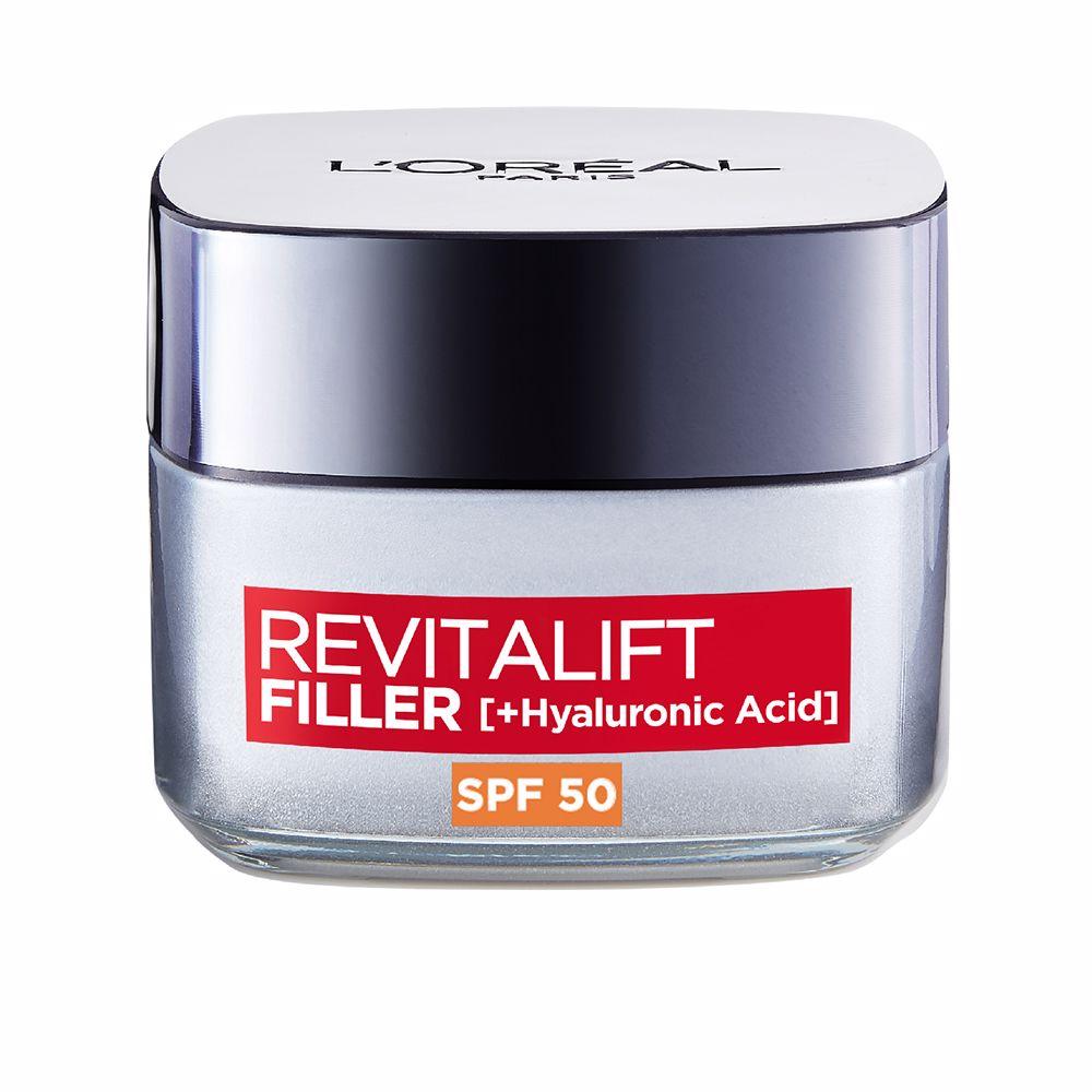 REVITALIFT FILLER ácido hialurónico crema día SPF50