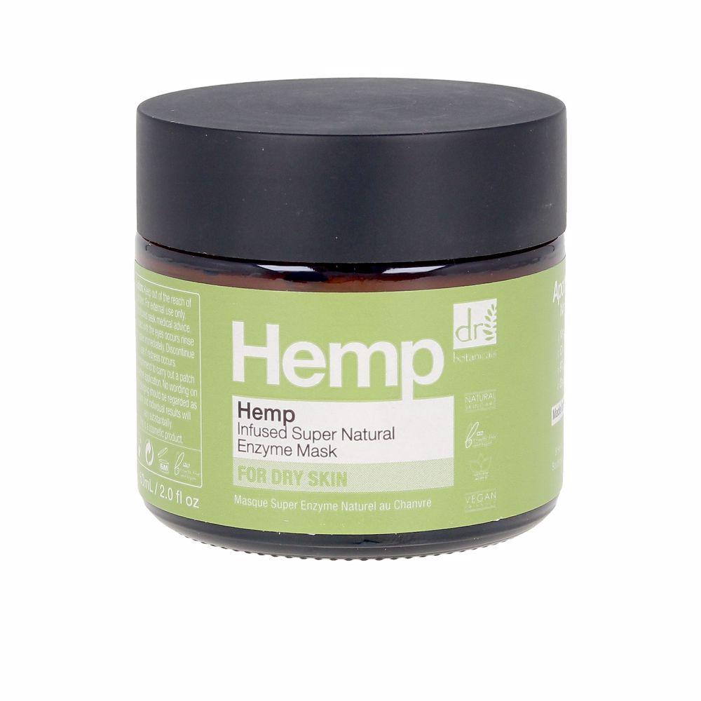 HEMP infused super natural enzyme mask