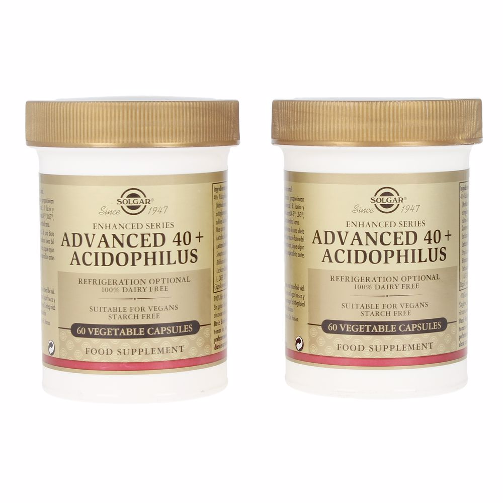 ADVANCED 40+ACIDOPHILUS cápsulas vegetales