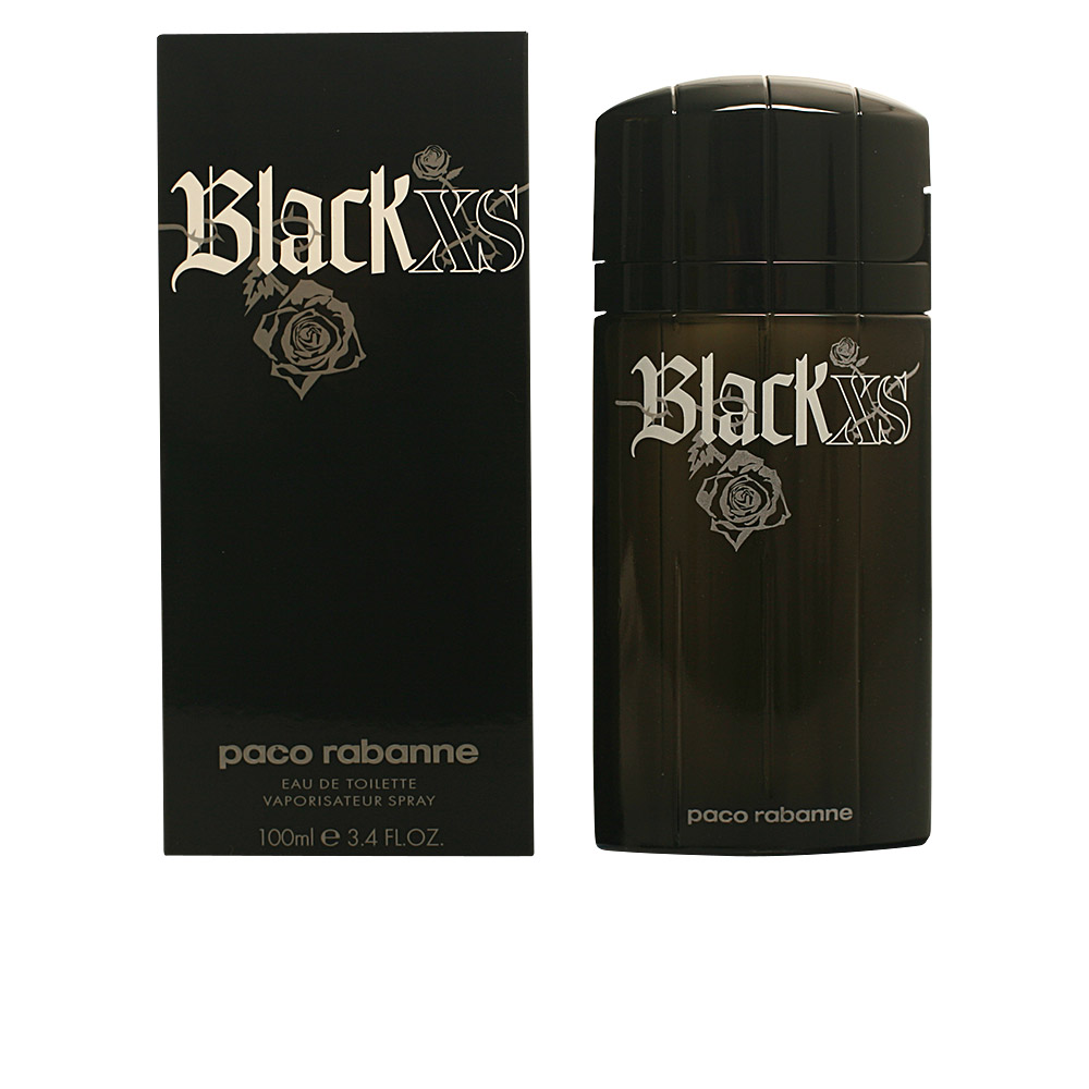 paco rabanne black xs eau de toilette vaporizador en perfumes club. Black Bedroom Furniture Sets. Home Design Ideas