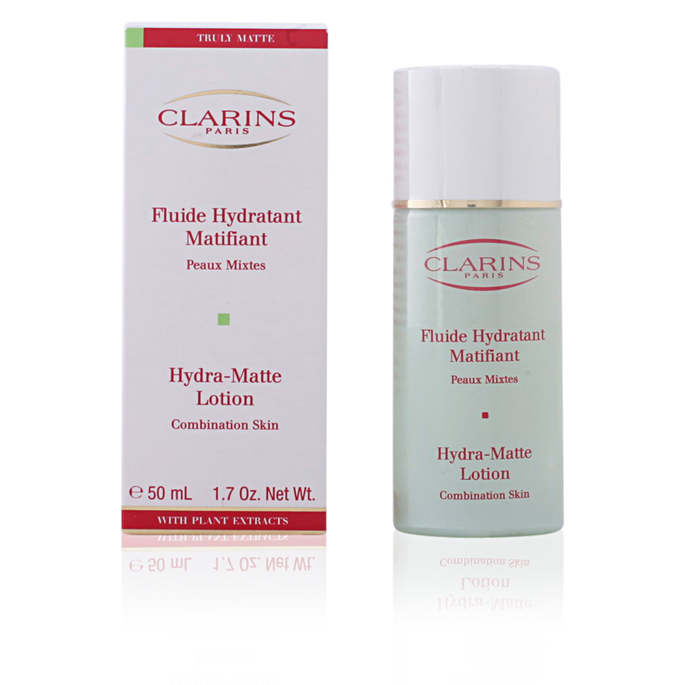 clarins face treatments eclat mat fluide hydratant matifiant pm products perfume 39 s club. Black Bedroom Furniture Sets. Home Design Ideas