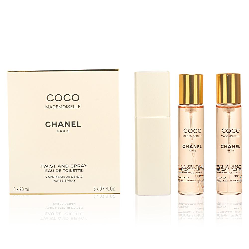 78b97df49c8aa3 COCO MADEMOISELLE vaporisateur de sac 2 Refills. Description Features  Share. Chanel. COCO MADEMOISELLE eau de toilette purse spray twist & spray  3 x 20 ml