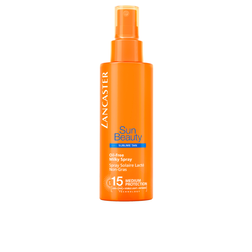 SUN BEAUTY oil free milky spray SPF15