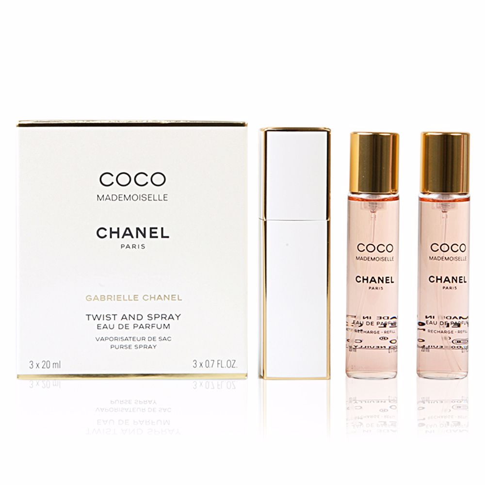 a203b41538996 Chanel COCO MADEMOISELLE twist and spray 2 Refills. Eau de Parfum spray for  woman