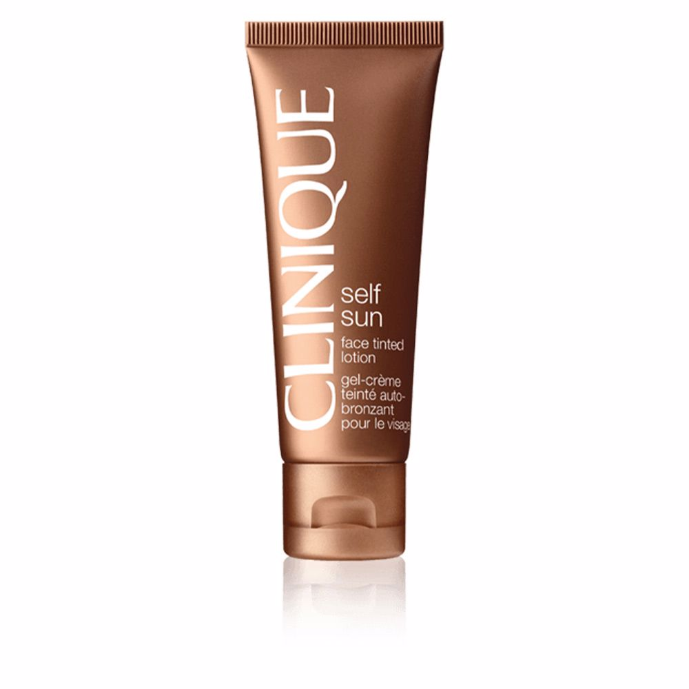 SUN face tinted lotion