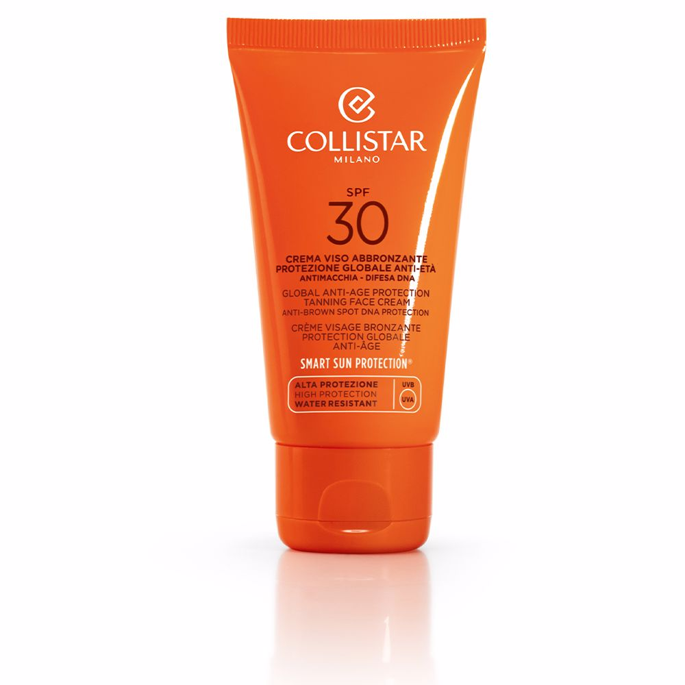 GLOBAL ANTI-AGE protection tanning face cream SPF30