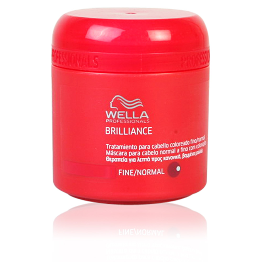 Wella Hair Brilliance Mask Fine Normal Hair Products