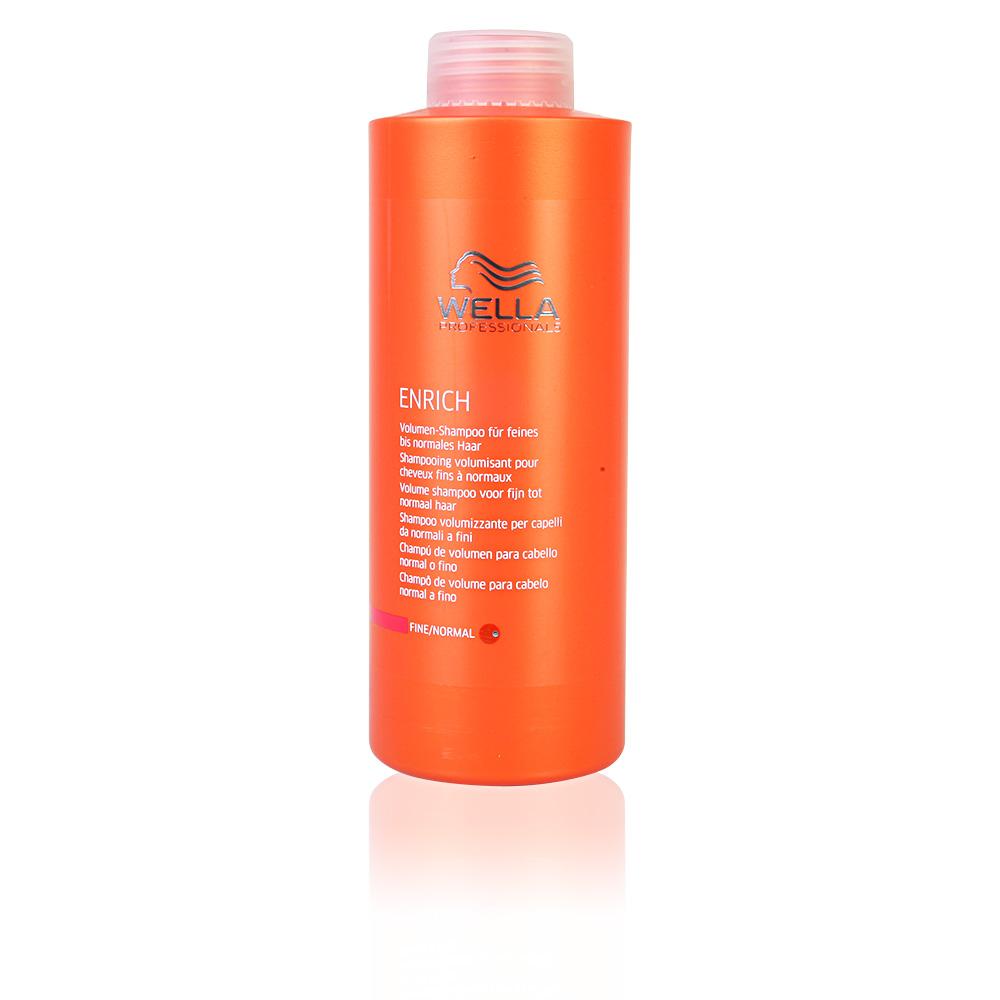 wella cheveux enrich shampoing volumisant pour cheveux fins normaux sur perfume 39 s club. Black Bedroom Furniture Sets. Home Design Ideas