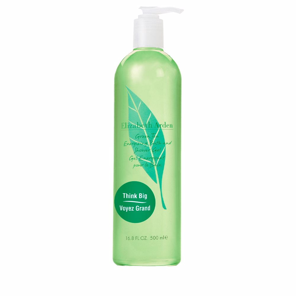 GREEN TEA energizing bath and gel douche