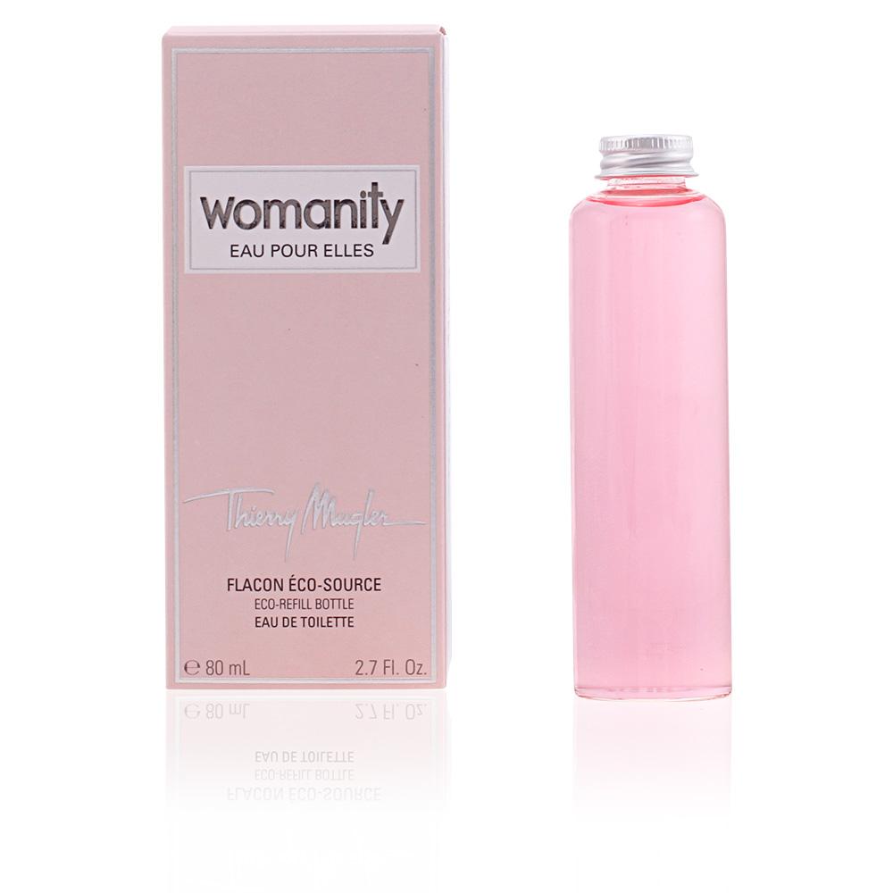 Womanity Perfume Refill: Thierry Mugler Type Of Perfume WOMANITY EAU POUR ELLES Eau De Toilette Eco-refill Bottle