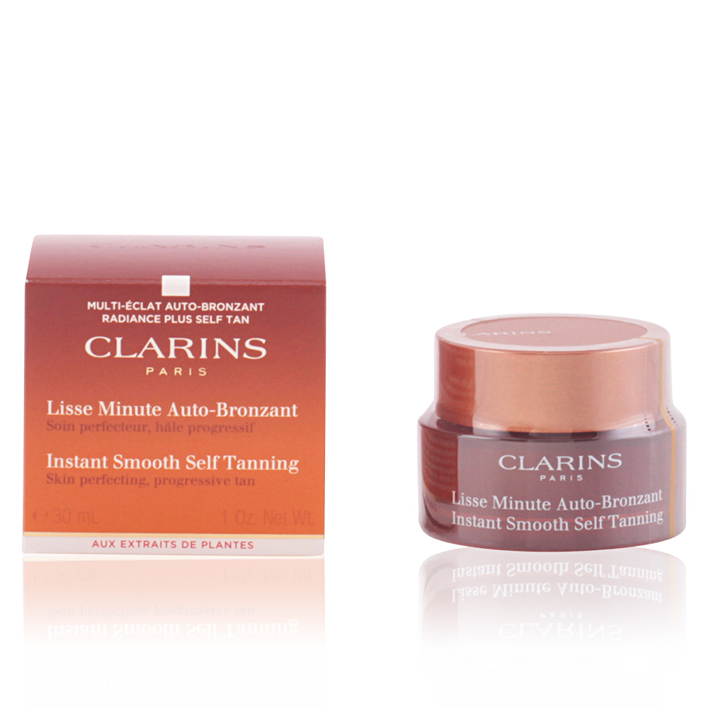clarins visage sun lisse minute autobronzant sur perfume 39 s club. Black Bedroom Furniture Sets. Home Design Ideas