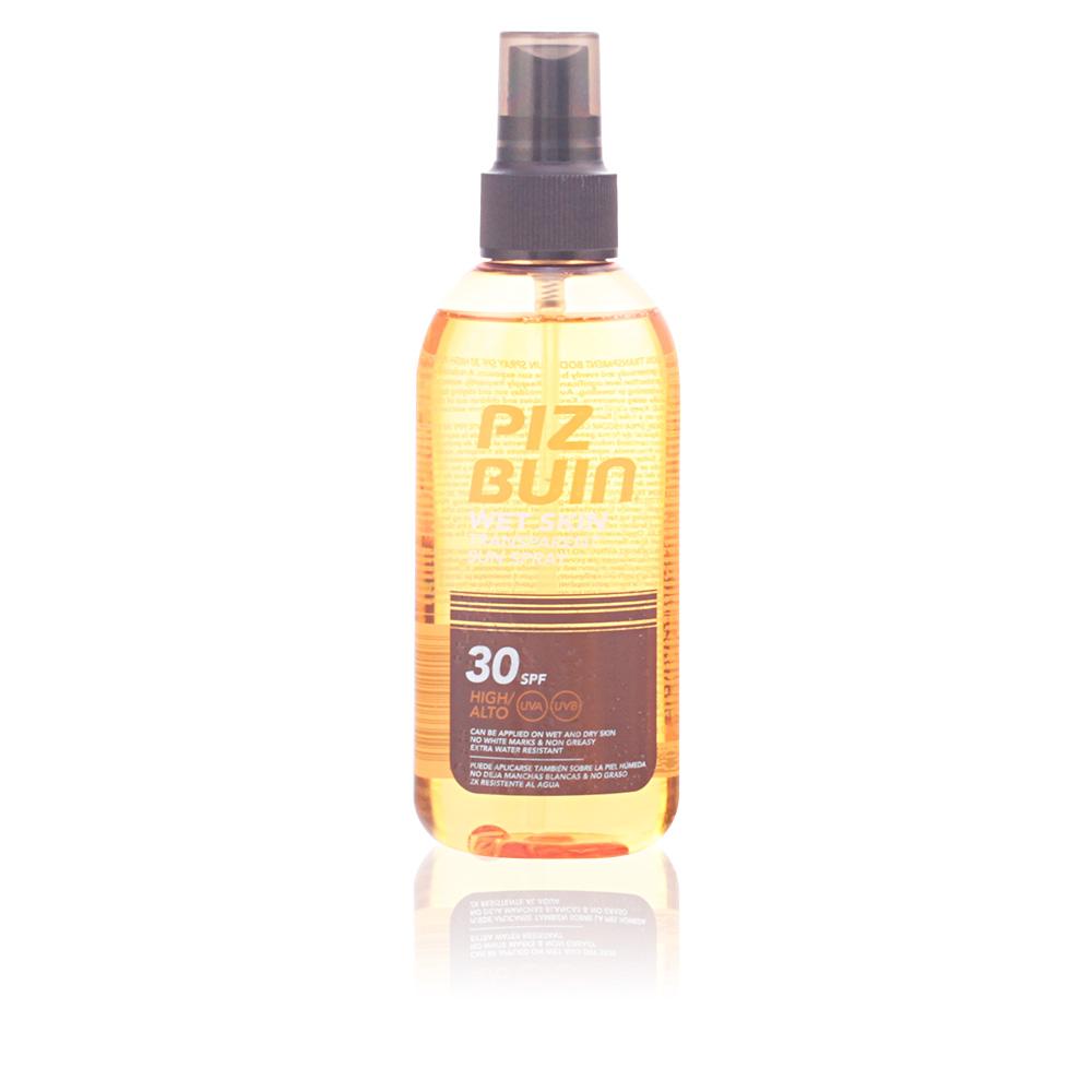 WET SKIN transparent sun spray SP30