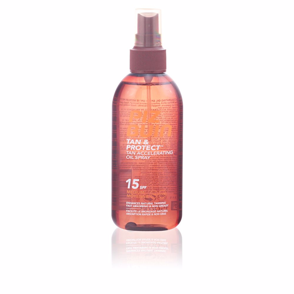 TAN & PROTECT oil spray SPF15