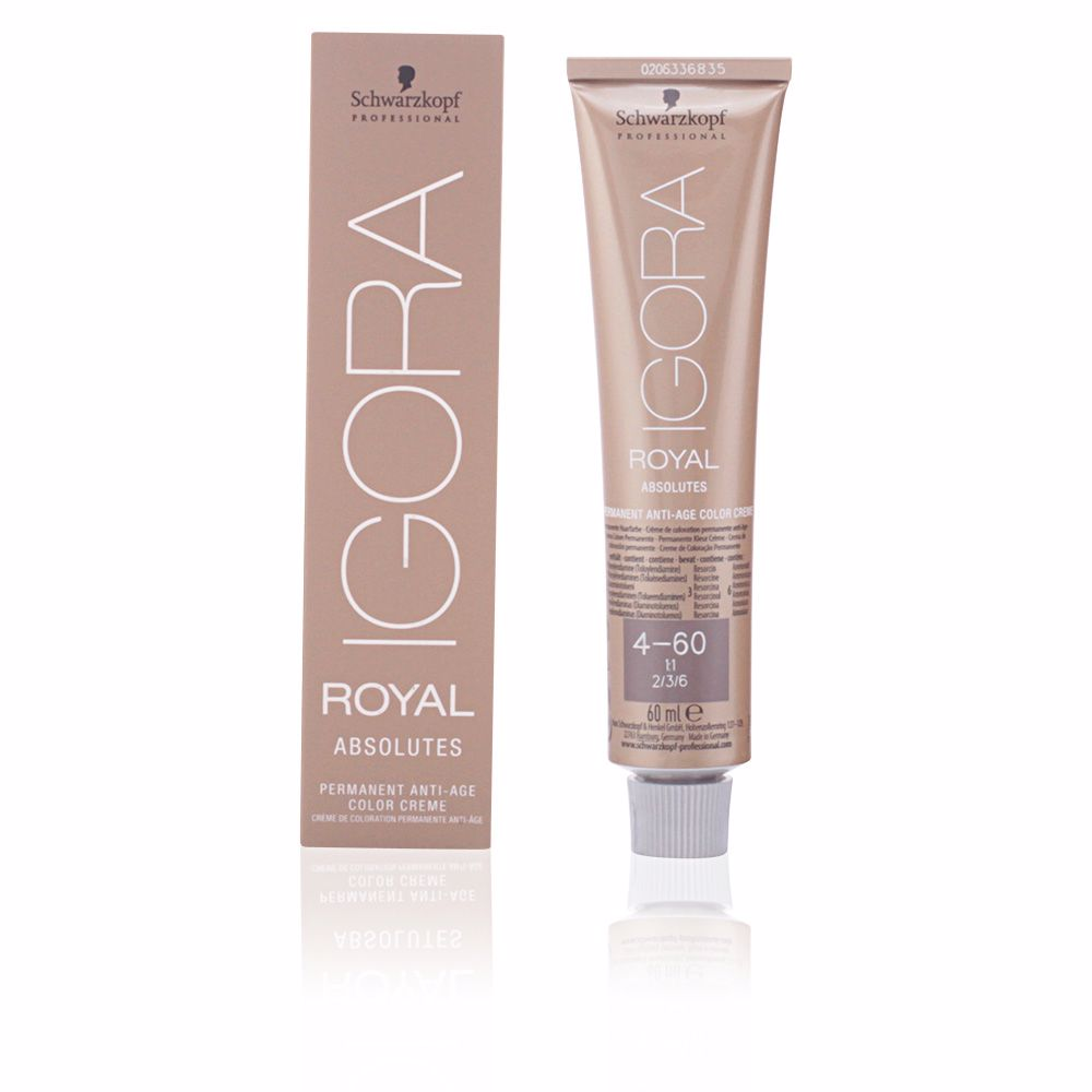 IGORA ROYAL ABSOLUTES anti-age color creme #4-60