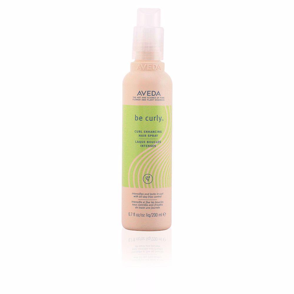 BE CURLY hair spray