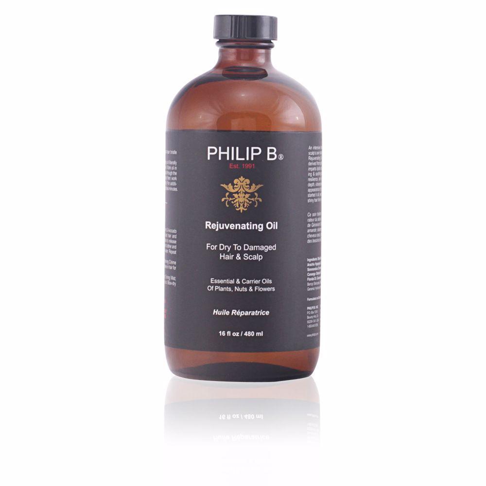 REJUVENATING OIL for dry to damaged hair & scalp
