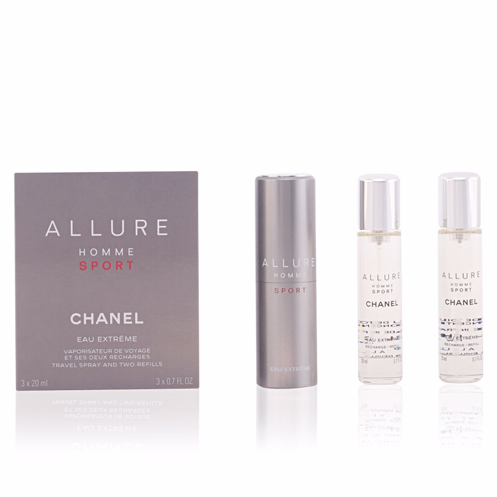 07cc10e5853 Chanel Type of Perfume ALLURE HOMME SPORT eau extrême travel spray ...