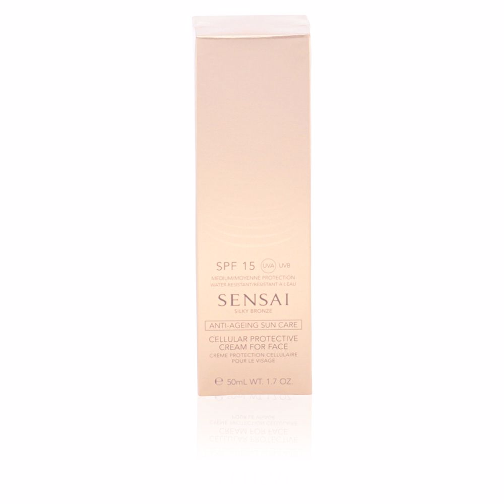 SILKY BRONZE anti-ageing sun care for face SPF15
