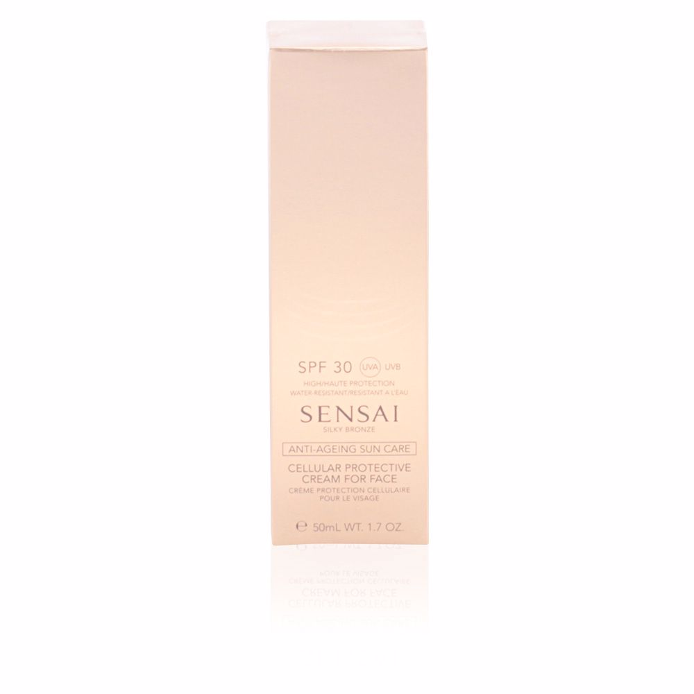 SILKY BRONZE anti-ageing sun care for face SPF30