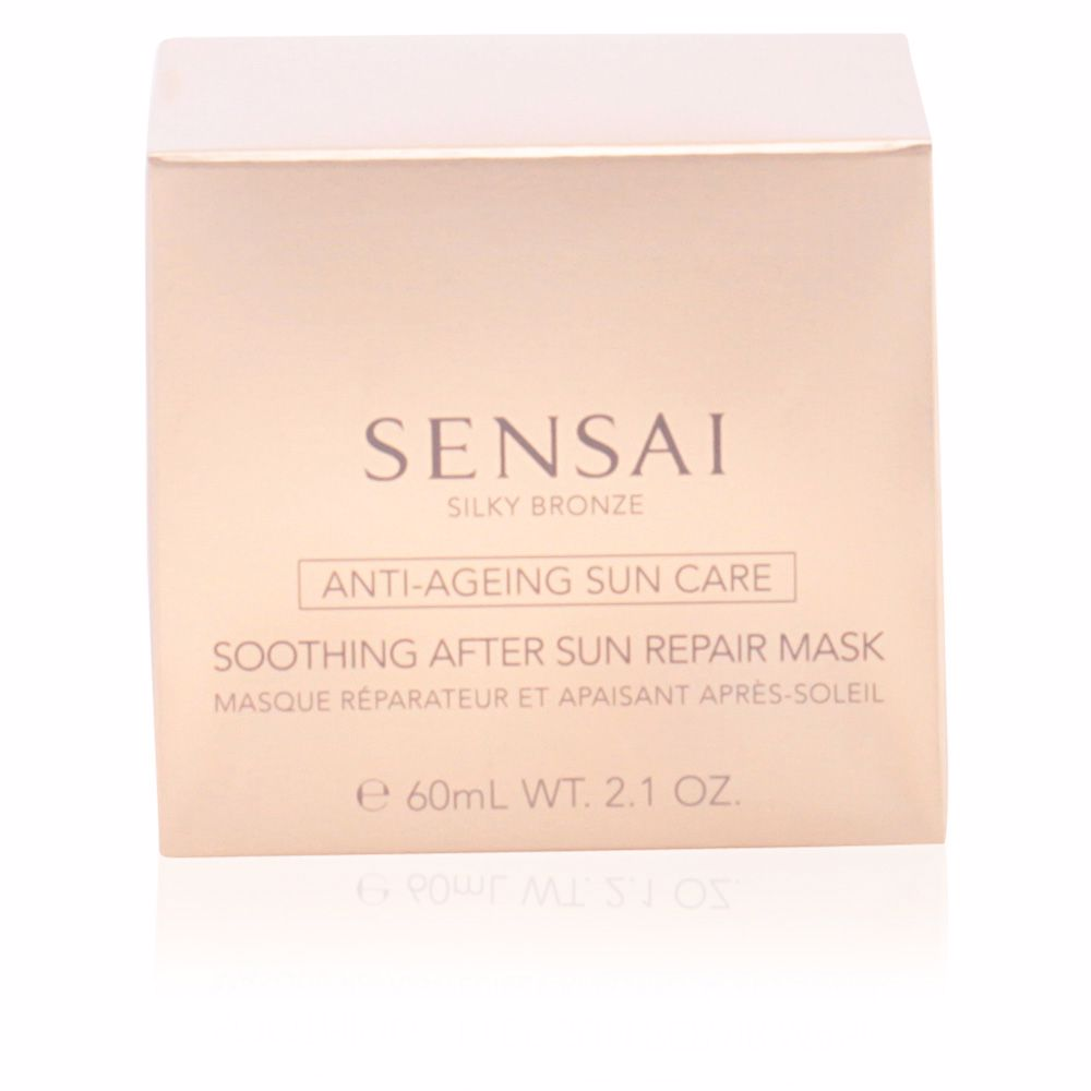 SILKY BRONZE anti-ageing sun care after sun repair mask
