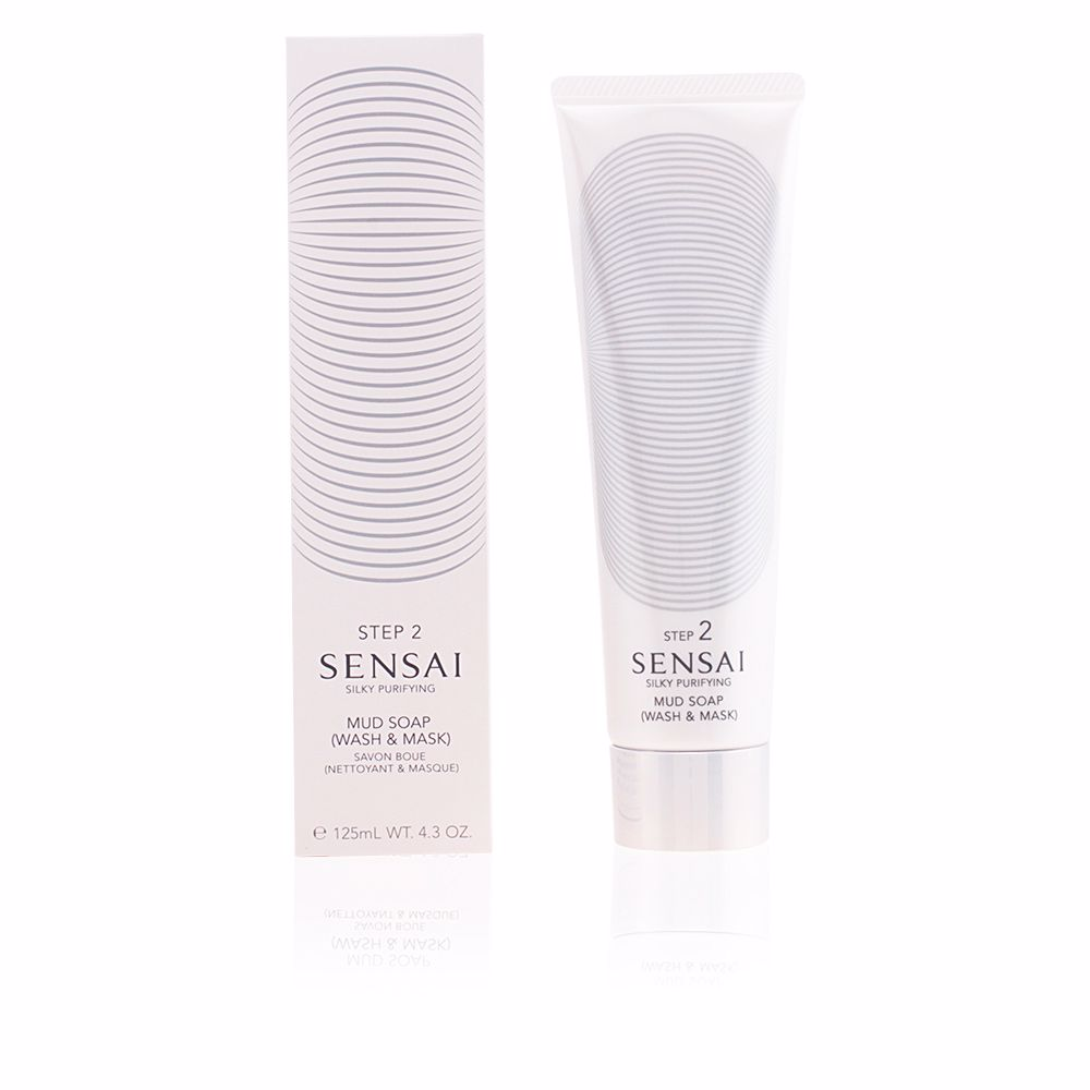 SENSAI SILKY PURIFYING mud soap wash & mask