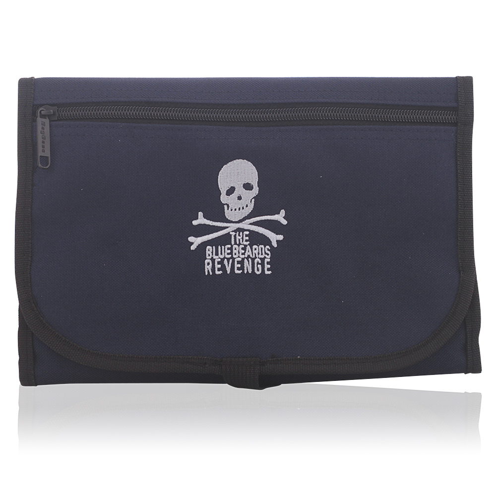ACCESSORIES blue washbag with logo
