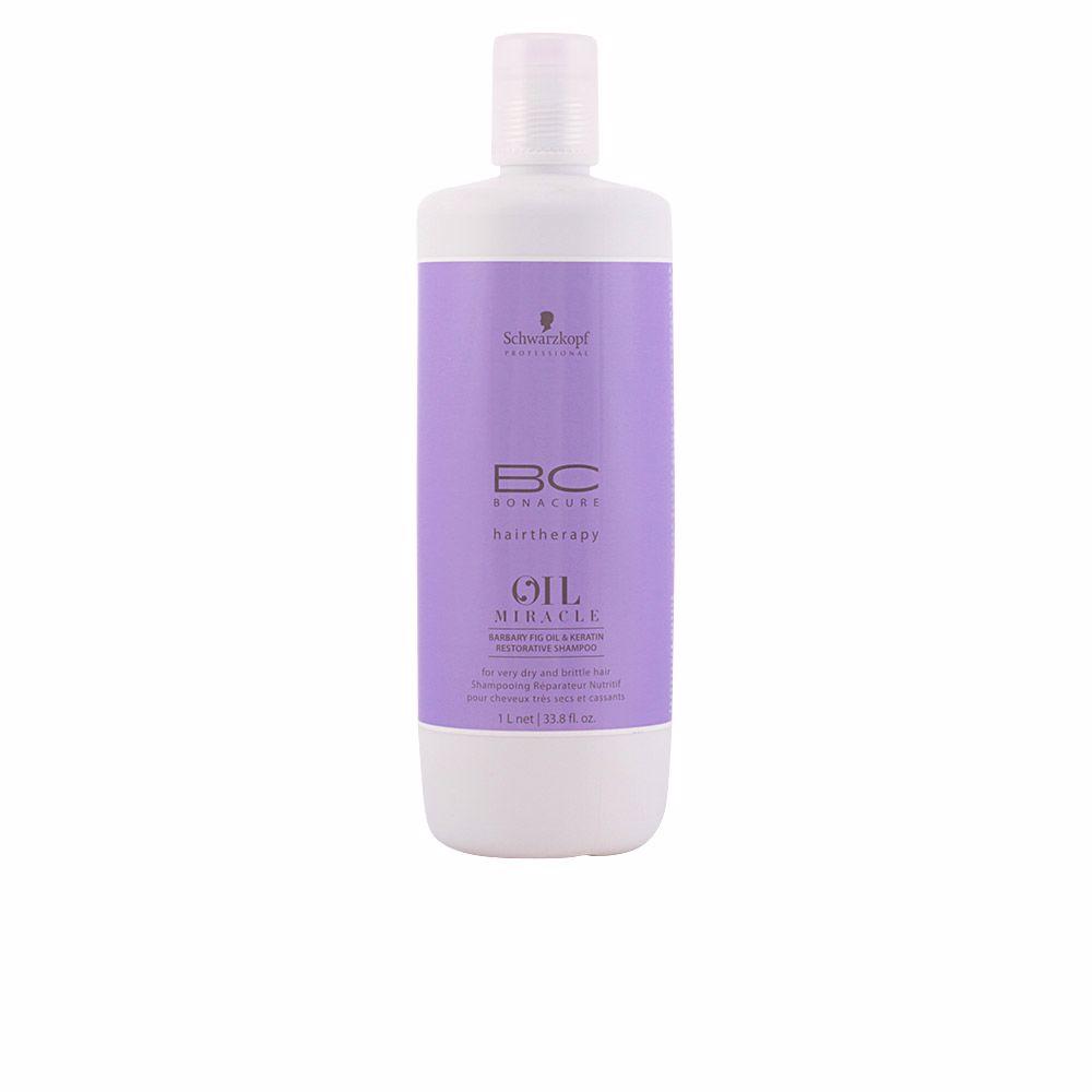 BC OIL MIRACLE barbary fig oil restorative shampoo