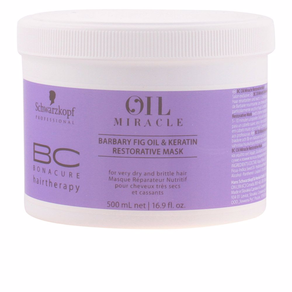BC OIL MIRACLE barbary fig oil mask