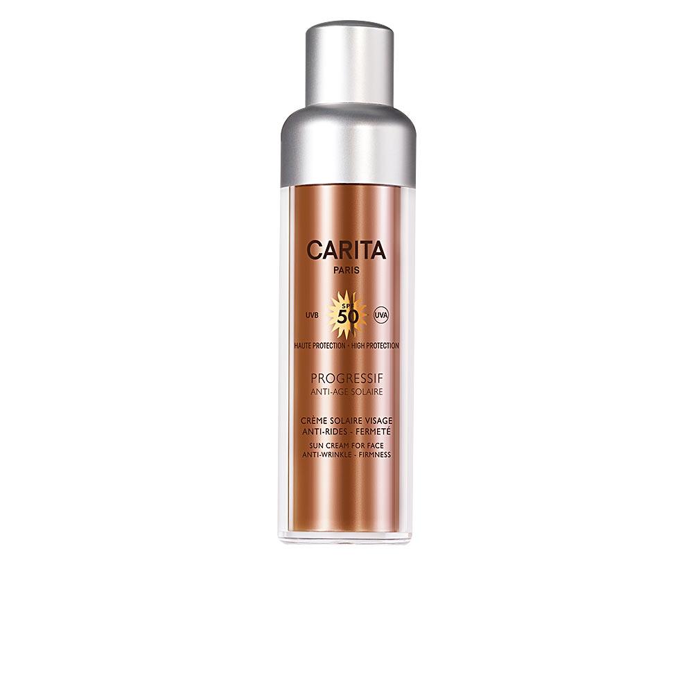 PROGRESSIF ANTI-AGE SOLAIRE crème visage SPF50