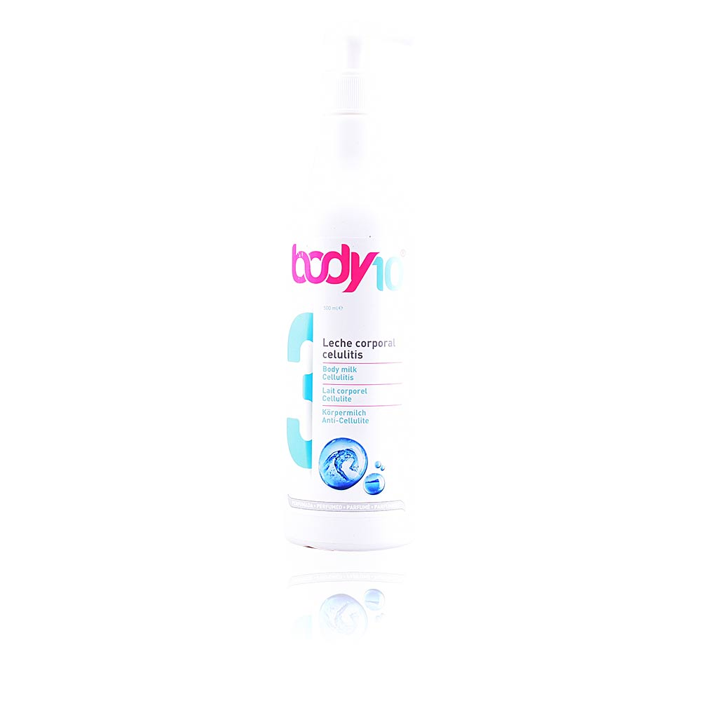 BODY 10 Nº3 body milk cellulitis