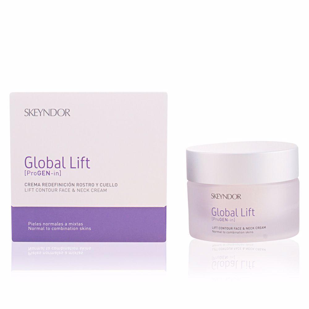 GLOBAL LIFT crema redefinición rostro y cuello piel normal