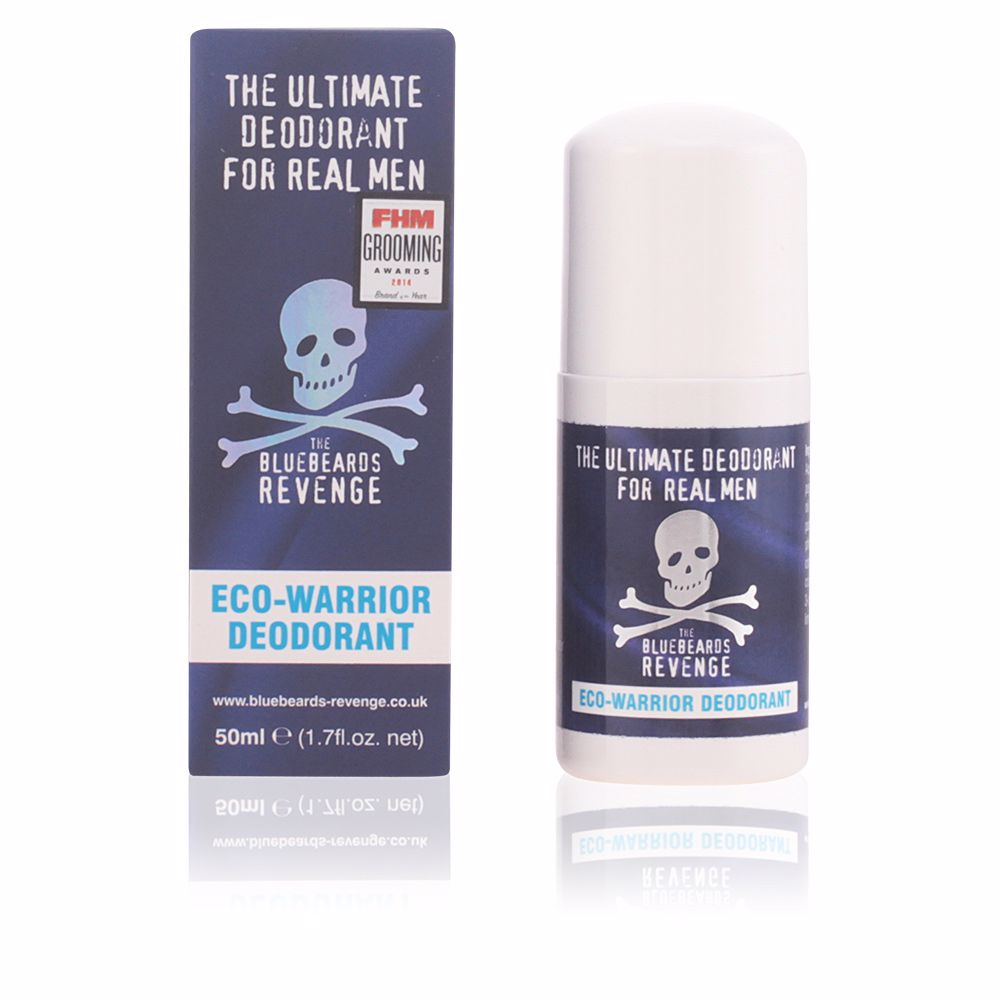THE ULTIMATE FOR REAL MEN eco-warrior deodorant