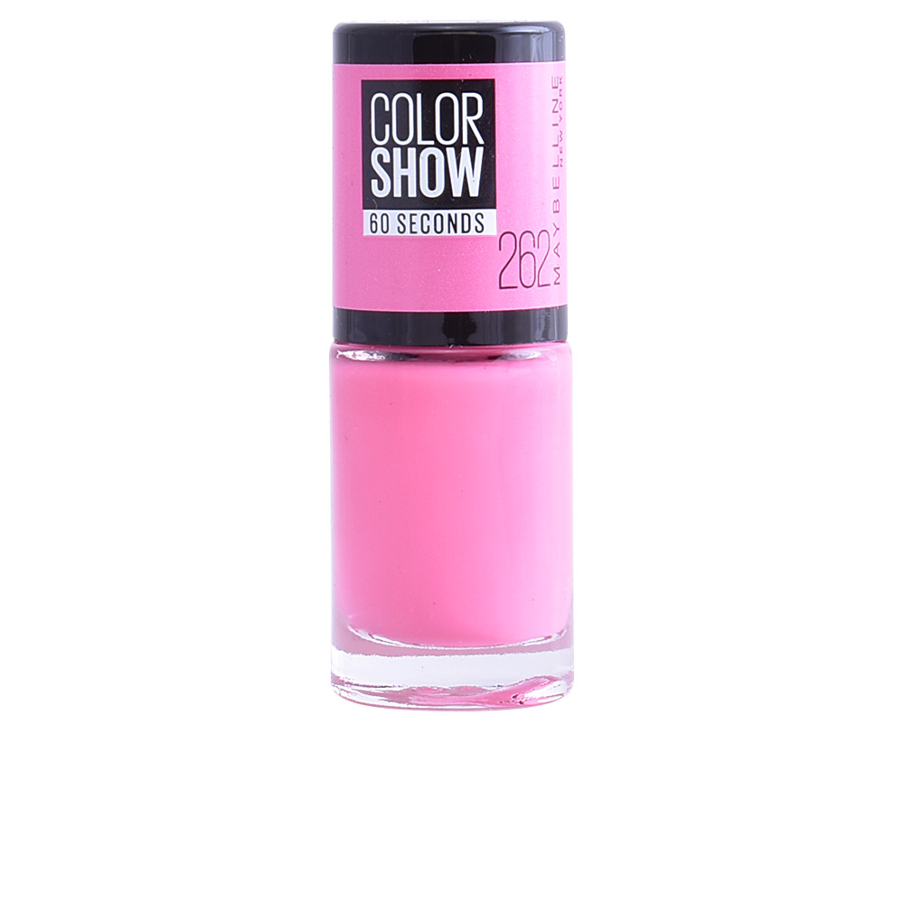 Maybelline Nail Polishes COLOR SHOW nail 60 seconds products ...