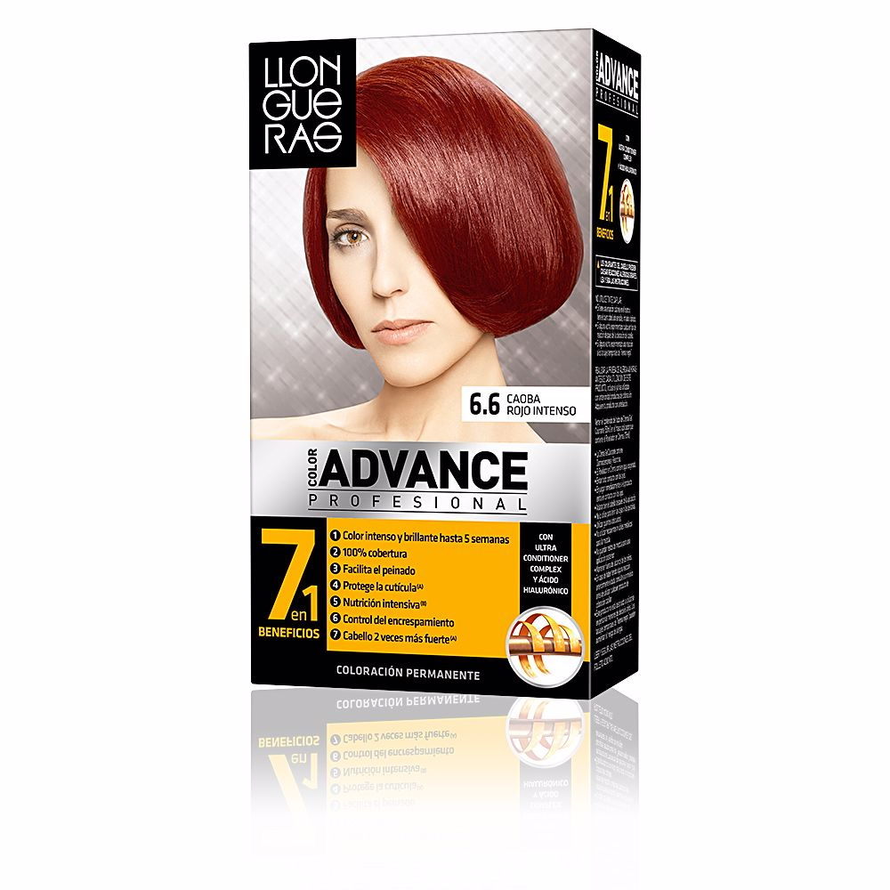 COLOR ADVANCE #6,6-caoba rojo intenso