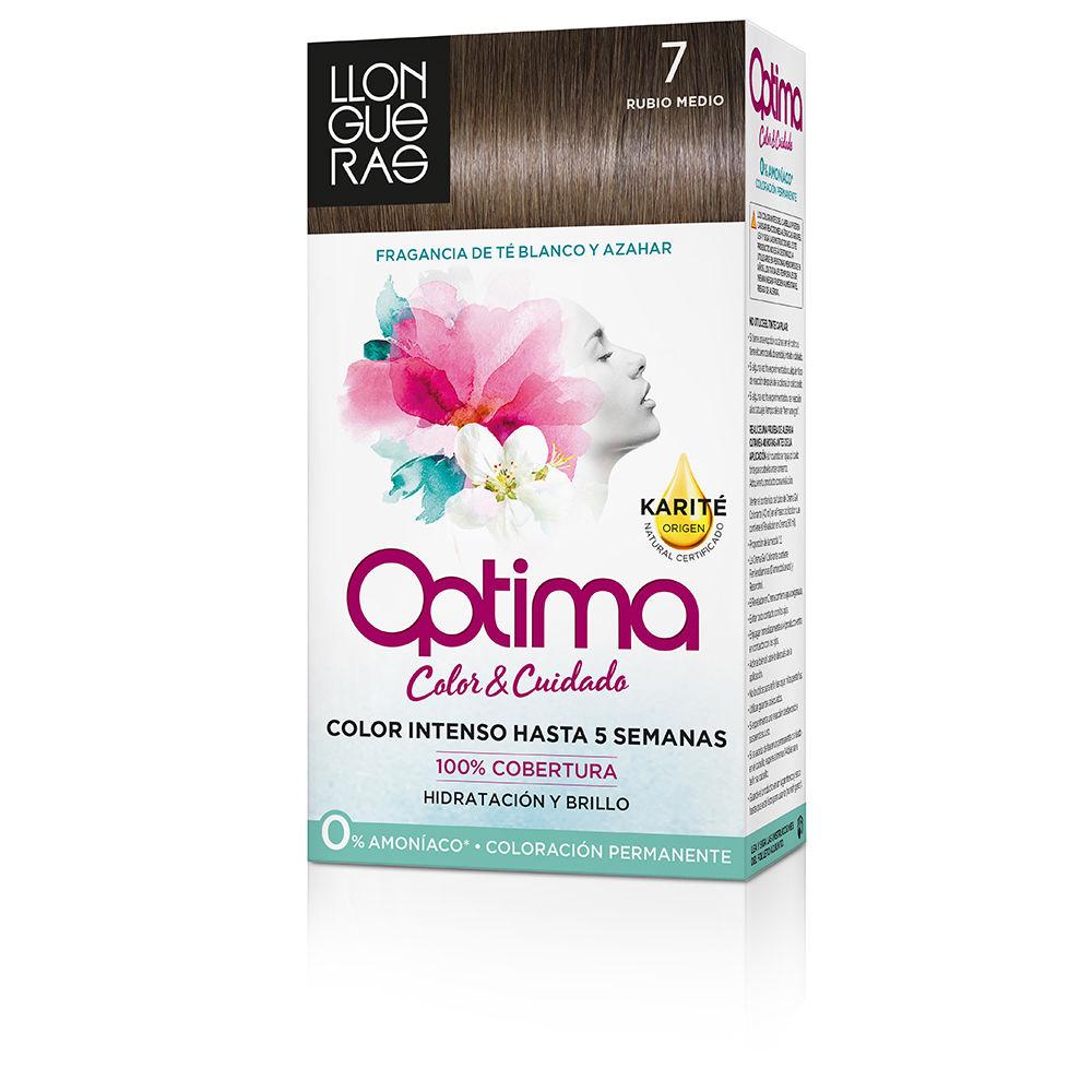 Llongueras Dye Optima Hair Colour 7 Rubio Medio Products