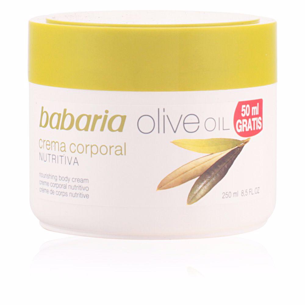 ACEITE DE OLIVA crema corporal nutritiva